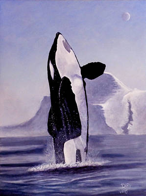 Painting - Gentle Giant by Dan Wagner