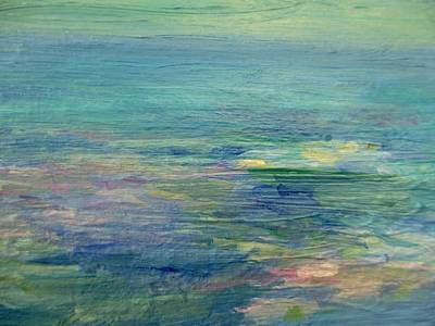 Painting - Gentle Light On The Water by Mary Wolf