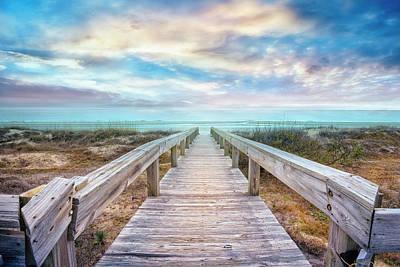 Photograph - Gentle Morning Walk by Debra and Dave Vanderlaan