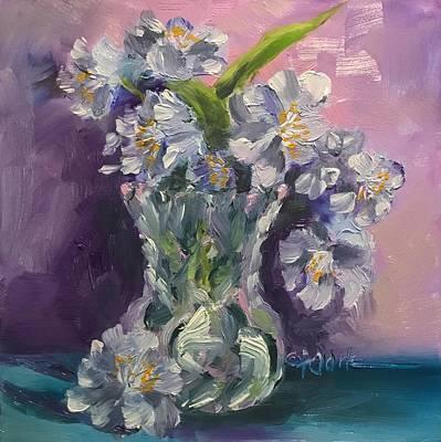 Painting - Gentle Petals by Donna Pierce-Clark