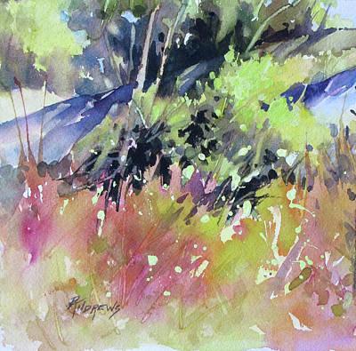Painting - Gentle Slope 2 by Rae Andrews