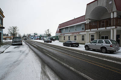 Photograph - Gentle Snow Falling On Everson by Tom Cochran