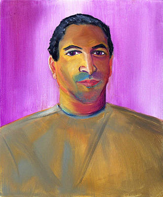 Painting - Gentle Soul And Great Salesman by Asha Carolyn Young