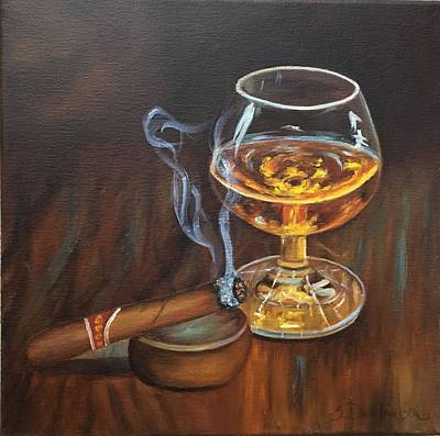 Painting - Gentleman's Delight  by Susan Dehlinger