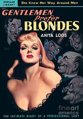 Gentlemen Prefer Blondes Art Print