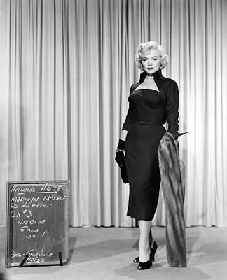Photograph - Gentlemen Prefer Blondes Staring Marilyn Monroe by R Muirhead Art