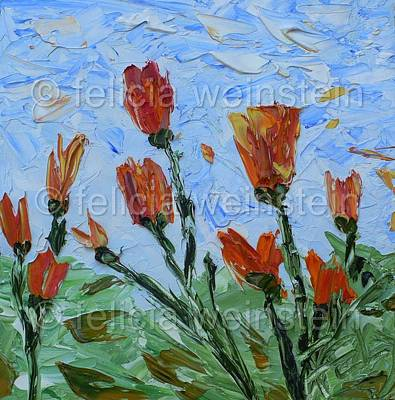 Painting - Gentleness by Felicia Weinstein