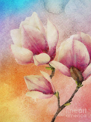 Gentleness Art Print by Klara Acel