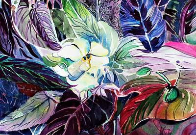 Painting - Gently Blooming by Mindy Newman