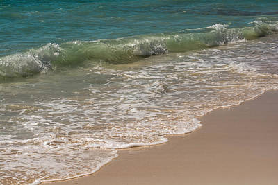 Beach Photograph - Gently Covering The Sand by Zina Stromberg