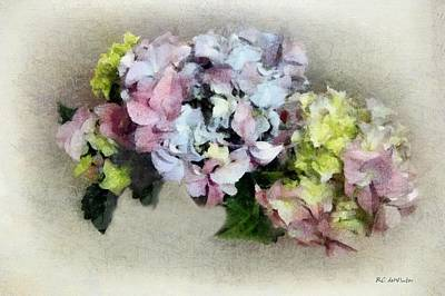 Painting - Gently Fading Fresco by RC DeWinter