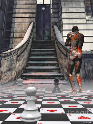 Mixed Media - Gentrification by ML Walker