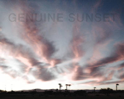 Photograph - Genuine Sunset by Stan  Magnan