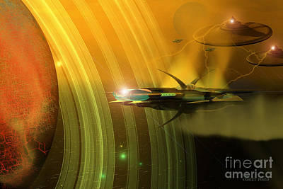 Jet Star Digital Art - Genx 12 by Corey Ford