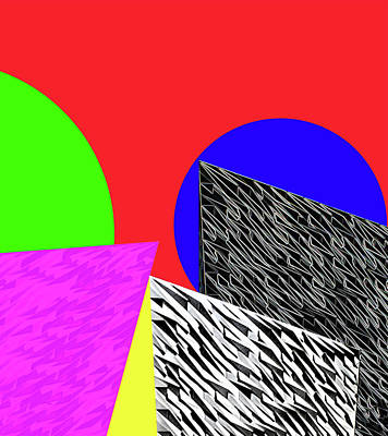 Geo Shapes 2 Art Print by Bruce Iorio