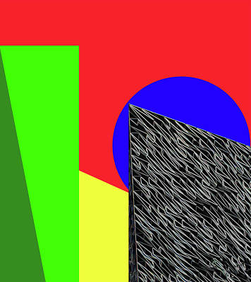 Geo Shapes 3 Art Print by Bruce Iorio