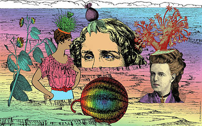 Geobotanical Fashions Art Print