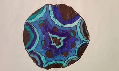 Painting - Geode by Jesus Nicolas Castanon
