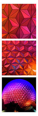 Sports Royalty-Free and Rights-Managed Images - Geodesic Glow by Christi Kraft