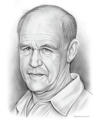 Drawings Rights Managed Images - Geoffrey Lewis Royalty-Free Image by Greg Joens