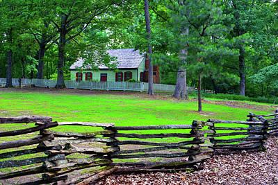 Photograph - Georgia Home by David Lee Thompson
