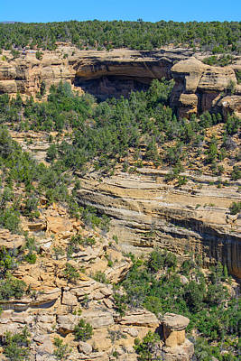 Photograph - Geography Of A Cliff Dwelling by Tikvah's Hope
