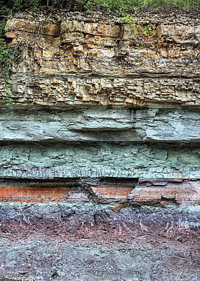 Photograph - Geological History by JC Findley