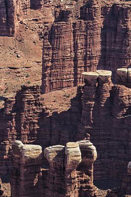 Photograph - Geological Spires - Canyonlands National Park by Belinda Greb