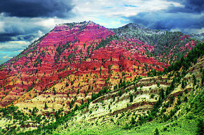 Photograph - Geology - Colorado by Susan Vineyard