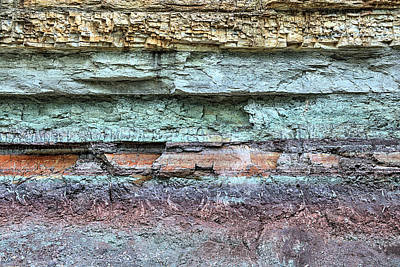Photograph - Geology by JC Findley