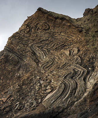 Photograph - Geology Lesson by Robert Potts