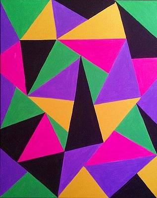 Painting - Geometra by Olivia Jones