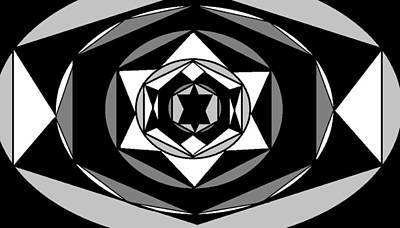 'geometric 1' Art Print