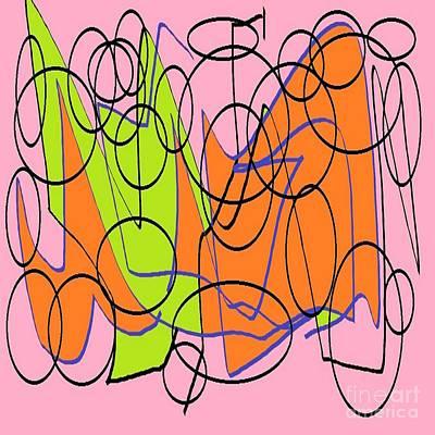 Eliso Digital Art - Geometric 234 by Eliso Ignacio Silva