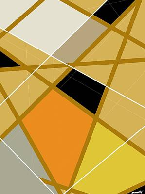 Digital Art - Geometric Abstract 1 by Patric Mouth