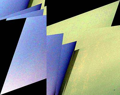 Digital Art - Geometric Abstract 5 by Will Borden