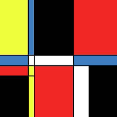 Going Green - Geometric Art 315 by Bill Owen