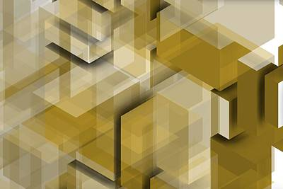 Geometric Art Digital Art - Geometric Composition 11 by Alberto RuiZ