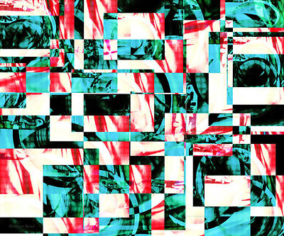 Collage Photograph - Geometric Confusion 2 by Shawna Rowe