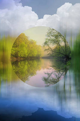 Photograph - Geometric Dream by Debra and Dave Vanderlaan