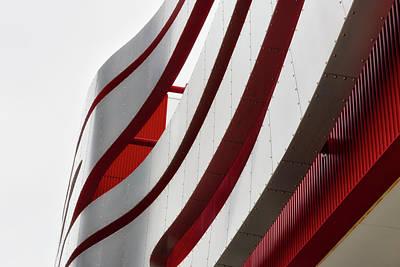 Photograph - Geometric Flow 01 by Mark David Gerson
