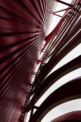 Photograph - Geometric Flow 04 by Mark David Gerson