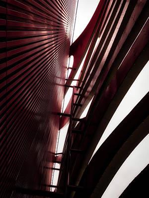 Photograph - Geometric Flow 05 by Mark David Gerson
