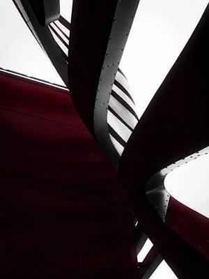 Photograph - Geometric Flow 06 by Mark David Gerson