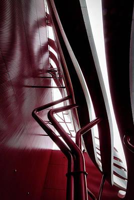 Photograph - Geometric Flow 11 by Mark David Gerson