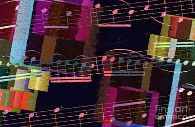 Digital Art - Geometric Gigue 2 by Lon Chaffin
