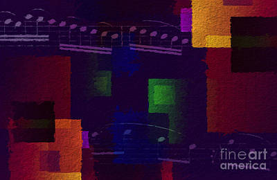 Digital Art - Geometric Gigue 3 by Lon Chaffin