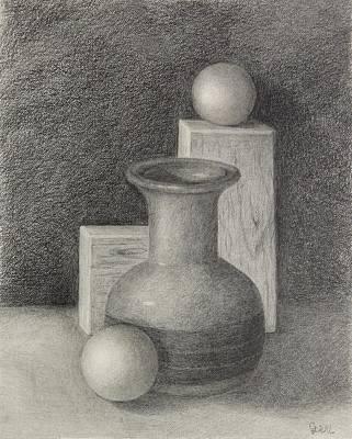 Drawing - Geometric by Grace Diehl