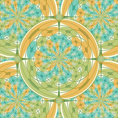 Algorithmic Digital Art - Geometric Harmony by Gaspar Avila