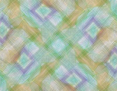 Digital Art - Geometric Pattern by Gina Lee Manley